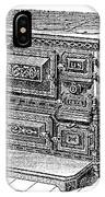 Stove, 1876 IPhone Case