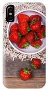 Strawberry Vintage IPhone Case