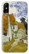 Street In Auvers-sur-oise IPhone Case