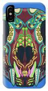 Sugar Lynx  IPhone Case by Nelson Dedos Garcia