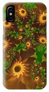Summer's Last Sunflowers IPhone Case