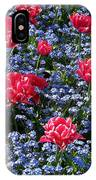 Sun-drenched Flowerbed IPhone Case