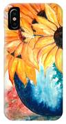 Sun Flower IPhone Case