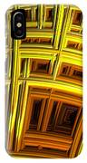 Sunflower Abstract IPhone Case
