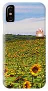 Sunflower Field New Jersey IPhone Case