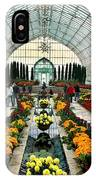Sunken Garden Como Conservatory IPhone Case