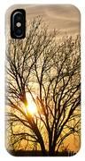 Sunset Tree IPhone Case