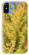 Tall Ginkgo Tree IPhone Case