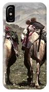 Working Camels IPhone Case