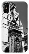 temple bar marker with dragon on the strand London England UK IPhone Case