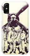 Test Pilots With P-47 Thunderbolt Fighter IPhone Case