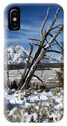 Tetons In The Distance IPhone Case
