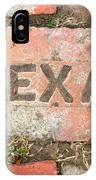 Texas Brick IPhone Case