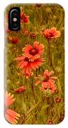 Texas Wildflowers V5 IPhone Case