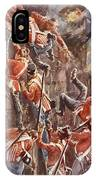 The 5th Division Storming By Escalade IPhone Case