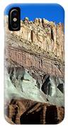 The Castle Capitol Reef National Park Utah IPhone Case