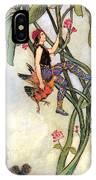 The Fairy Book IPhone Case