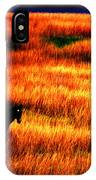 The Golden Grain Of A Sunset Dream IPhone Case