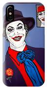 The Joker And Mom IPhone Case