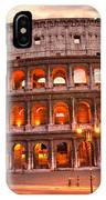The Majestic Coliseum - Rome - Italy IPhone Case