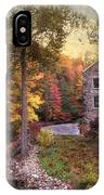 The Old Stone Mill IPhone Case