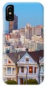 The Painted Ladies Of San Francisco IPhone Case