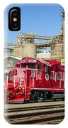 The Red Locomotive IPhone Case