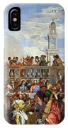The Wedding At Cana IPhone Case