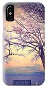 The Yesterday Bench IPhone Case