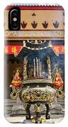 Thien Hau Temple A Taoist Temple In Chinatown Of Los Angeles. IPhone Case