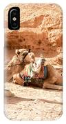 Three Camels IPhone Case