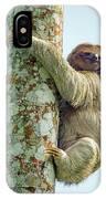 Three-toed Sloth Bradypus Tridactylus IPhone Case