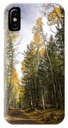 A Path Through The Woods  IPhone Case