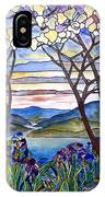 Stained Glass Tiffany Frank Memorial Window IPhone Case