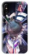 Times Square Planet IPhone Case
