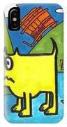 Tippy By The Bay IPhone Case
