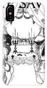 Title Page From The Savoy IPhone Case