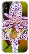 Toad Lily IPhone Case
