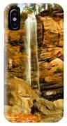 Toccoa Falls IPhone Case