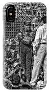 Tony Stewart Introduction IPhone Case