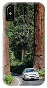 Tourism In Sequoia National Park IPhone Case