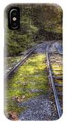 Tracks Along The River IPhone Case