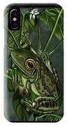 Tree Frog IPhone Case