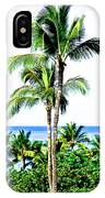 Tropical Palm Trees IPhone Case