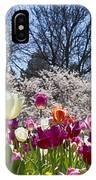 Tulips At Dallas Arboretum V94 IPhone Case
