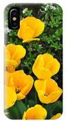 Tulips. IPhone Case