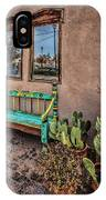 Turquoise Bench IPhone Case