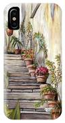 Tuscan Steps IPhone Case