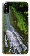 Twin Falls Creek Mount Rainier IPhone Case
