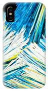 Urea Or Carbamide Crystals In Polarized Light IPhone Case